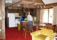 cottage makeover 1970s cabin to relaxing retreat Small Cabin Remodels