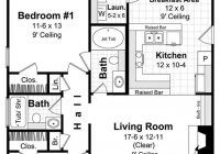 country home plan 2 bedrms 2 baths 1000 sq ft 141 1230 1000 Sq Ft Cabin Floor Plans