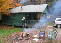 cozy cabin picture of allegany state park campground Allegany State Park Cabins