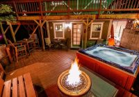 cozy cottagehot tubpropane fire ring fri sat 2 nite Cabin Cottage With Hot Tub