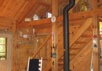 cozy log cabin in family friendly community gouldsboro Wood Burning Stoves Cabin