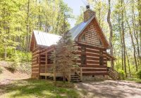 creekside cabin log cabin with outdoor hot tub hot springs Cabins In Hot Springs Nc