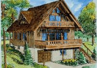 cupola pond vacation cabin home plan 072d 1036 house plans Cabin House Plans