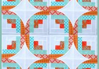 curve it up block 7 log cabin ck crafts Log Cabin Quilt Layouts 7 By 7