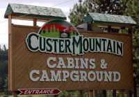 custer mountain cabins campground custer sd campgrounds Custer Mountain Cabins