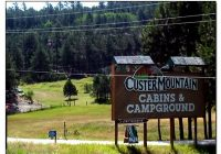 custer mountain cabins campground custer sd rv parks Custer Mountain Cabins