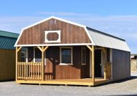 deluxe lofted barn cabins archives derksen portable buildings Deluxe Lofted Barn Cabin Price
