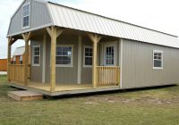 deluxe lofted cabin avery building barns mini barns Deluxe Lofted Barn Cabin Price