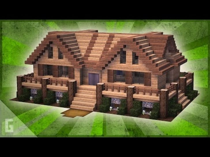 Permalink to Minecraft Cabin House  Ideas