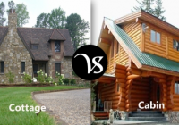 difference between cottage and cabin difference all Cabin Cottage Difference