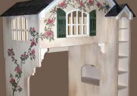 dollhouse loft bed Cottage Cabin Bed