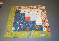 easy log cabin quilt block pattern Log Cabin Quilts