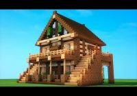epic survival how to build a survival house minecraft Minecraft Cabin House