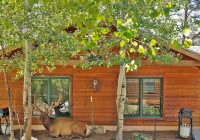 evergreens on fall river cabins and a vacation home estes Colorado Vacation Cabins