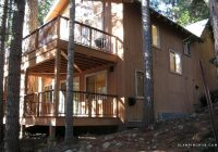 exceptional riverside cabin rental in the trees near pinecrest lake california Pinecrest Lake Cabins