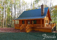 fireside cabin hocking hills old mans cave ohio Log Cabin Rentals In Ohio