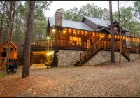 firewater creek cabin rentals beavers bend lodging Secluded Cabins In Oklahoma