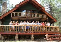 flagstaff group getaways reunions retreats large groups Cabins Flagstaff Az