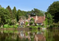for sale vivien leighs former home tickerage mill sussex Lake Cabin Uk For Sale