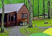 four big reasons to vacation in tiny cabins at west virginia Cacapon State Park Cabins
