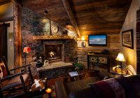 foxtail residence montana7 Country Cabin Living Room Ideas