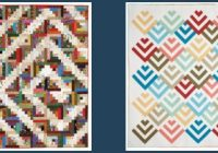 free log cabin quilt pattern collection youll love Log Cabin Quilt Designs