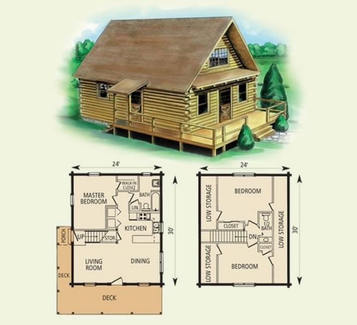 Permalink to Simple Small Cabin Plans With Loft Free Gallery