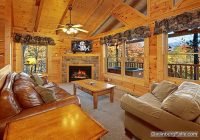 gatlinburg cabin pointe of view 2 bedroom sleeps 8 Pet Friendly Cabins In Smoky Mountains