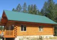 green gables meadowlark log homes 24×30 Cabin