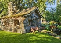 guide to tiny house living stone cabin stone cottages Cabin Cottage Charlevoix