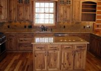 hickory cabin northern mn rustic kitchen minneapolis Cabin Kitchen Cabinets