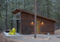 hilton construction modern passive solar ranch house Shed Roof Cabin Plans