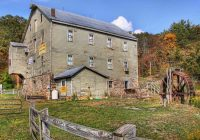 historic burnt cabins grist mill burnt cabins historic gri Burnt Cabins Grist Mill