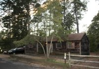 historic cabin 18 at parvin state park a beautiful time my Parvin State Park Cabins