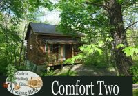 hocking hills cabin too with hot tub Hocking Hills Cabins For 2