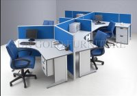 hot item modern wave workstations muti person s office cabin partition sz ws546 Office Cabin