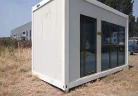 hot item porta cabin container homes 3bedroom steel structure puerto rico container house price Cabin Container House
