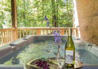 hot springs log cabins nc mountain cabin rentals Romantic Log Cabin Getaways With Hot Tub