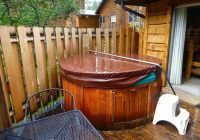 hot tub on blue spruce picture of fall river cabins estes Cabins In Estes Park With Hot Tubs