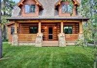 house plan 43212 log style with 1362 sq ft 2 bedrooms Cabin Houses