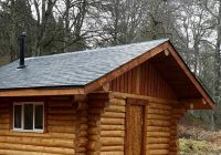 how a canadian log cabin came to be in scotland Canadian Log Cabin