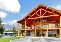 how to build a log cabin from scratch and hand log Wooden Cabin Designs