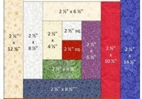 how to construct a log cabin quilt block Log Cabin Quilt Designs