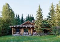 how to elegantly style a log home architectural digest Log Cabin Style