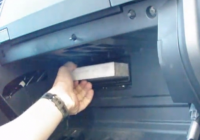 how to replace cabin air filter on 2008 toyota tundra Replacing Cabin Air Filter