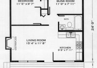 huntsman cabin plan 24×24 Cabin Plans