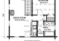 image result for 24×24 cabin plans with loft cabin plans 24×24 Cabin Plans