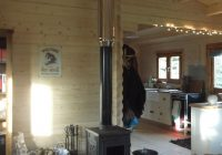 image result for small farm living room wood burning stove Wood Stoves In Cabins
