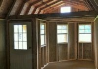 inside view deluxe lofted cabin barn in 2020 tiny house Deluxe Lofted Barn Cabin Interior