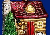 item 20026 lake cabin 325 tall cabins and cottages Lake Cabin Ornament
